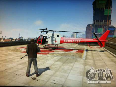Helicóptero do GTA 5