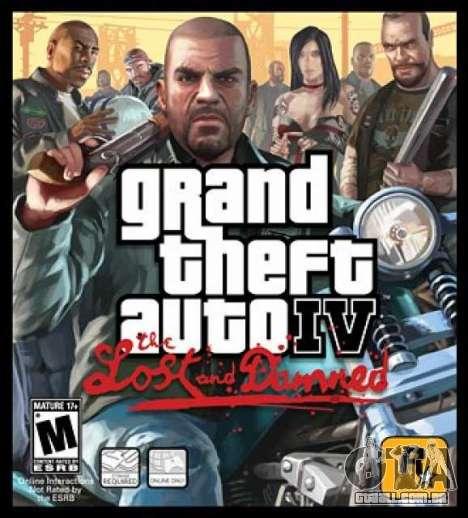 4 anos atrás, aconteceu o lançamento de GTA 4 TLAD na América do Norte