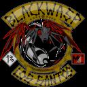 Black Vespa logo