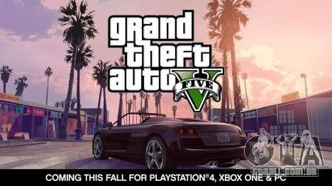 Anunciado a data de lançamento de GTA 5 para PC, Xbox One e PlayStation 4!