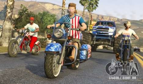 Patriotas no GTA online: vídeo e fotos