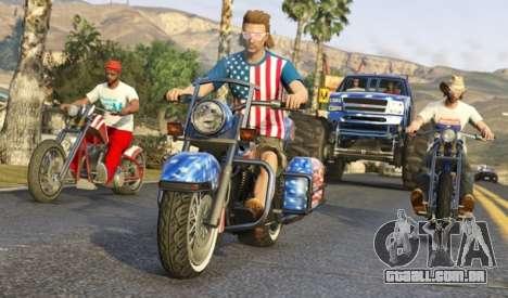 Patriotas no GTA online: vídeo e fotos