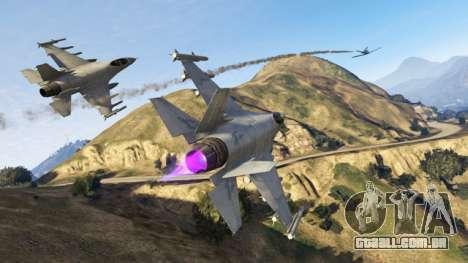 Missões de GTA Online: do céu guerra