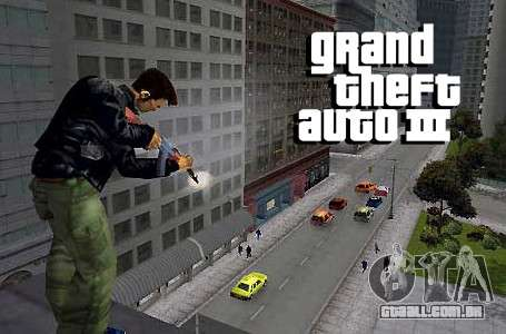GTA 3 PSN: características lançamento no Japão, o