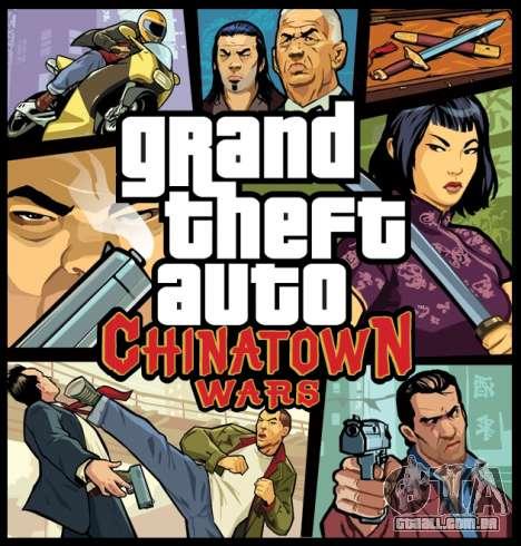 Europeus lançamentos: GTA CW para PSP