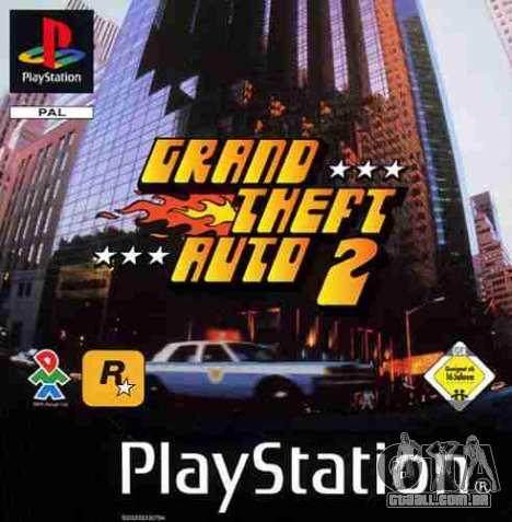 Lançamentos do GTA 2: PS-versão na América do Norte