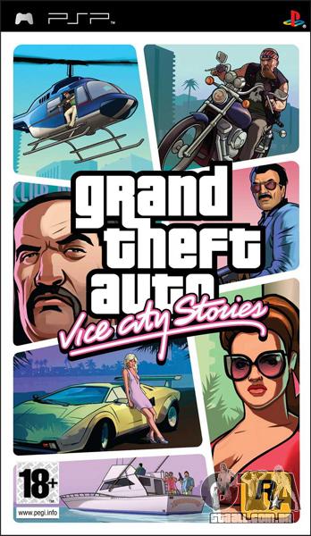 GTA VCS no Japão: lançado para o PSP-porta
