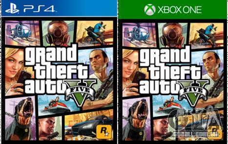 GTA 5 está disponível para a PS 4 e Xbox One