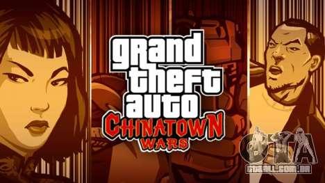 Europeus lançamentos: GTA CW NDS