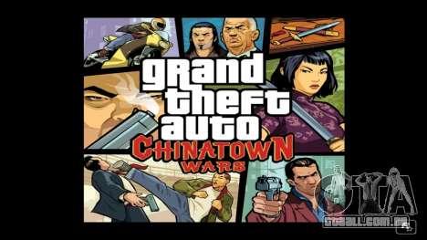o Lançamento de GTA CW para NDS na Austrália