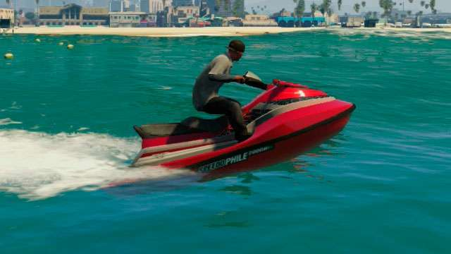 Speedophile Seashark de GTA 5