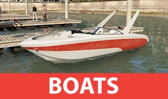 GTA 5 barcos