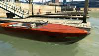 Pegassi Speeder do GTA 5 - vista frontal