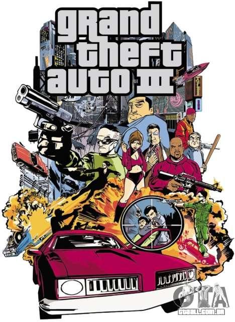 um mundo 3D para o GTA 3 PC: lançamento na América