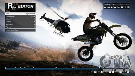 Dicas de Rockstar Editor: câmera, som