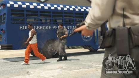 Prison Break heist em GTA Online