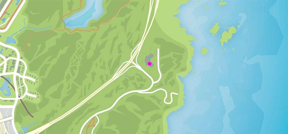 Вертолёт в GTA Online можно найти в этой точке