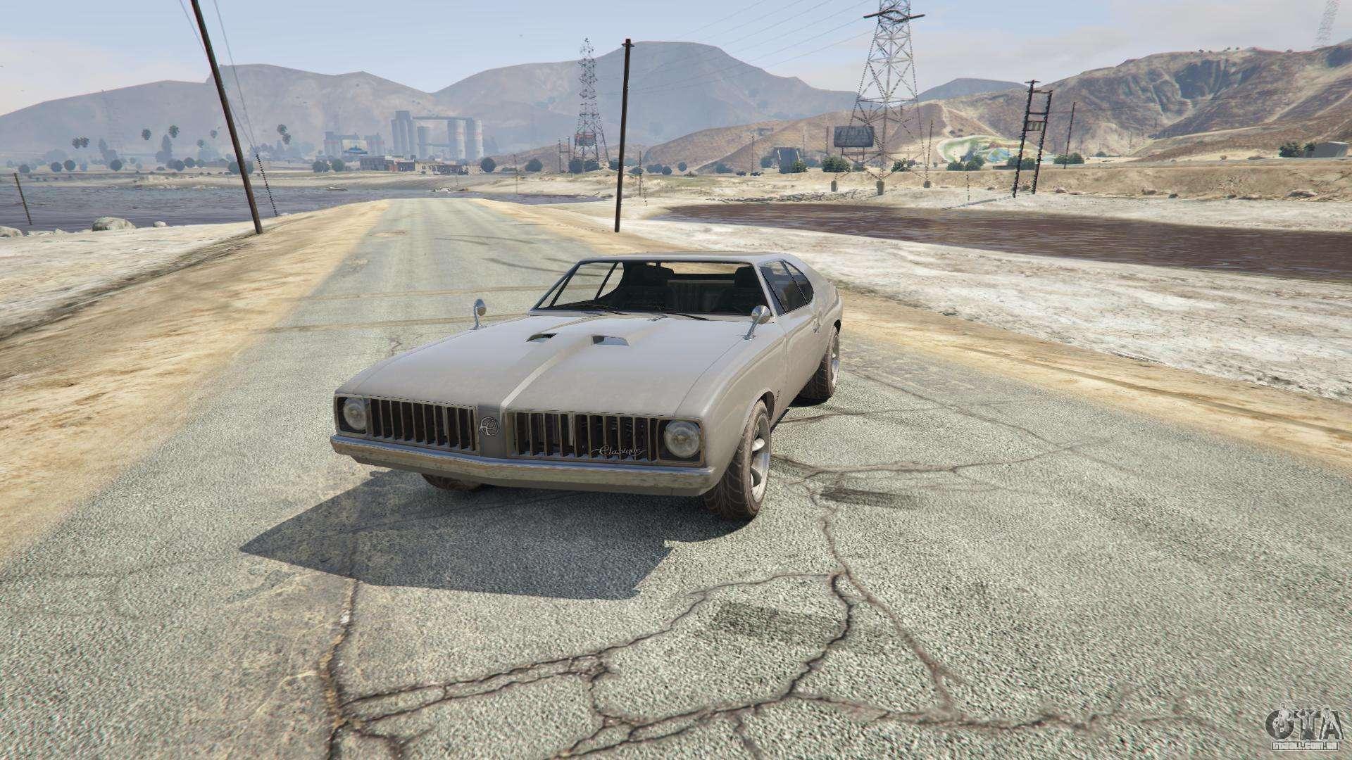 Stallion do GTA 5 - vista frontal