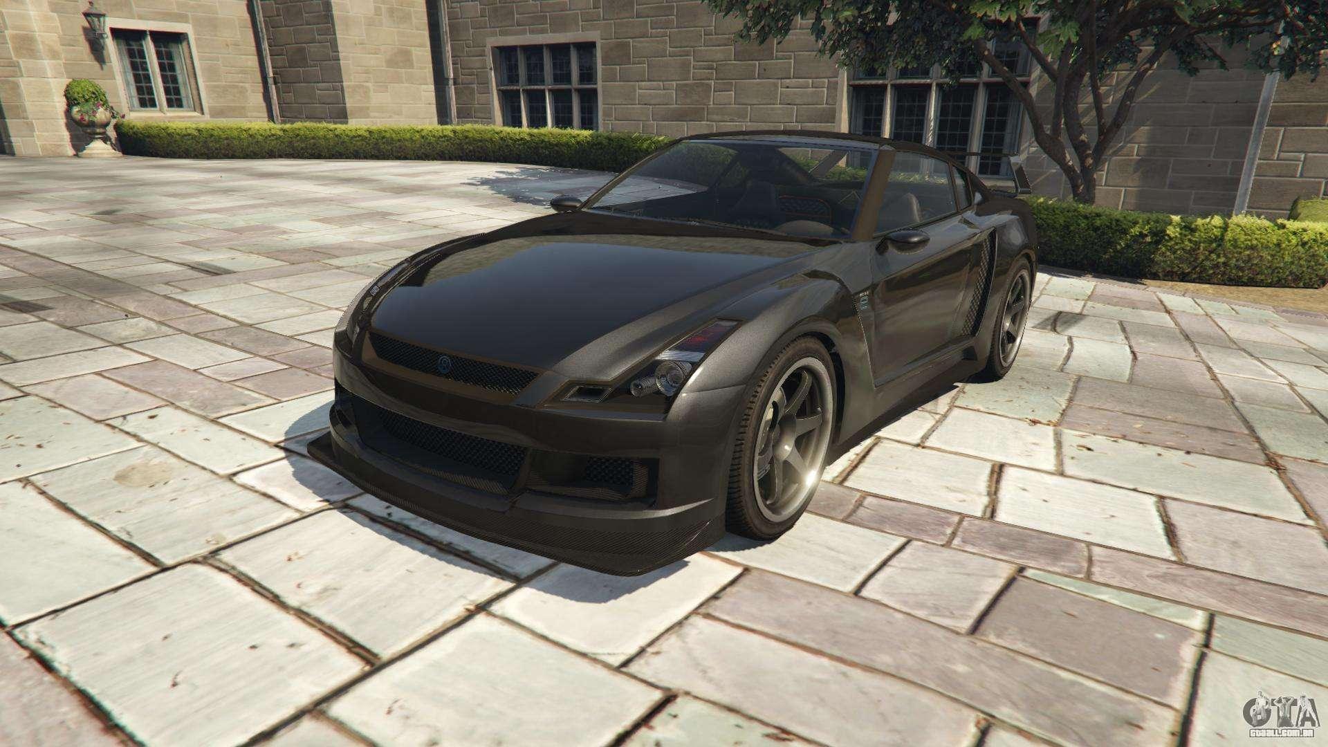 Annis Elegy RH 8 de GTA 5 - vista frontal