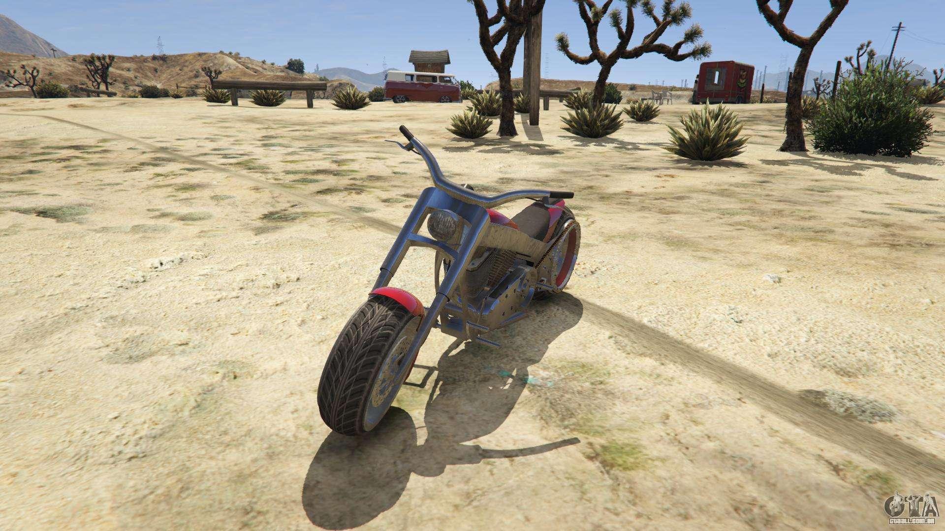Liberty City Cycles Innovation do GTA 5