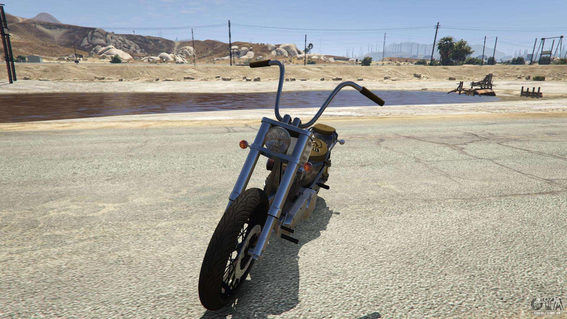 Western Motorcycle Company Daemon do GTA 5