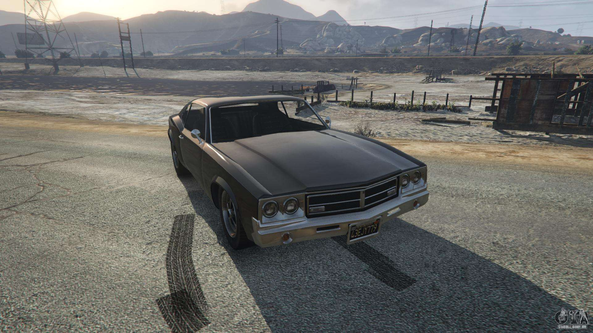 Sabre Turbo de GTA 5 - vista frontal