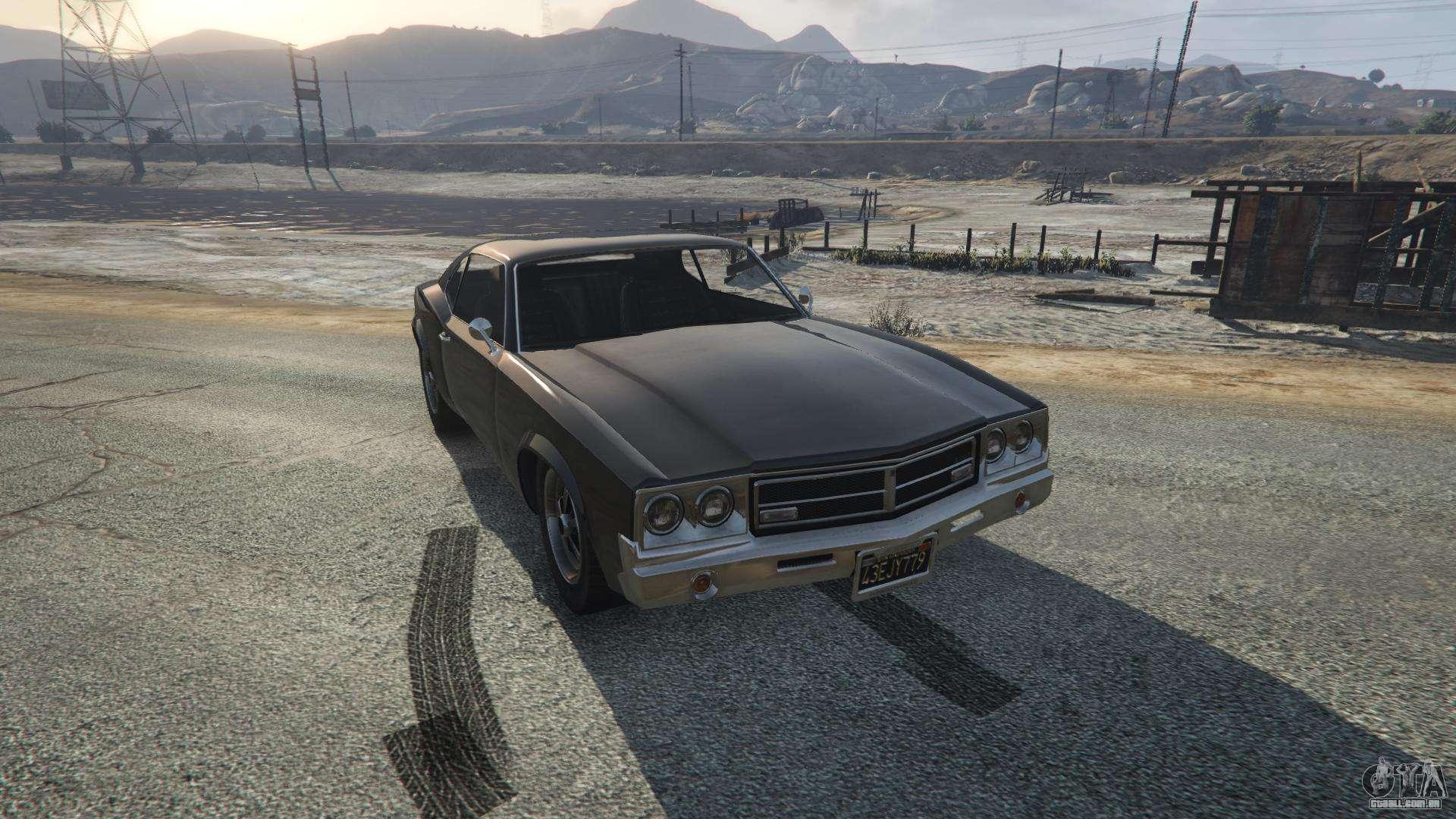 Sabre Turbo de GTA 5 - vista frontal