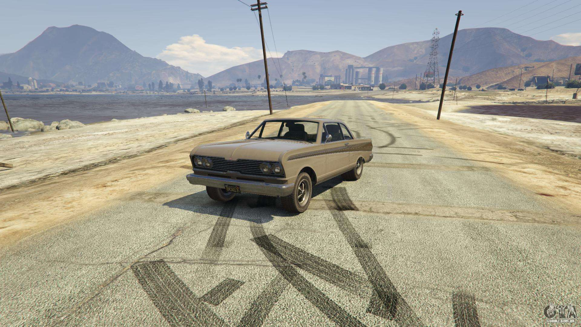 Vapid Blade de GTA 5 - vista frontal