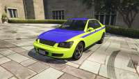 Karin Sultan GTA 5 - vista frontal