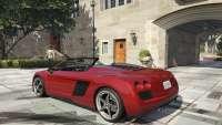 Obey 9F Cabrio GTA 5 - vista posterior