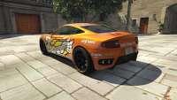 Dewbauchee Massacro Racecar do GTA 5 - vista posterior