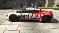 Dinka Jester Racecar do GTA 5 - vista lateral