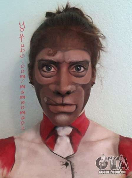 macaco máscara MaoMaoz