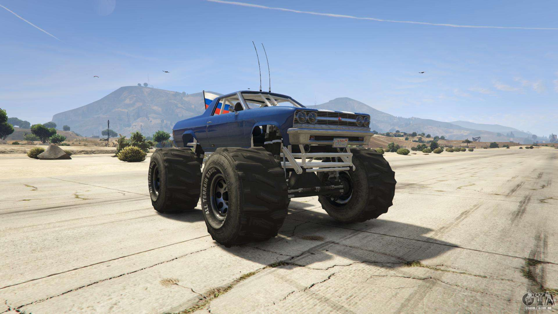 GTA 5 Cheval Marshall - vista frontal