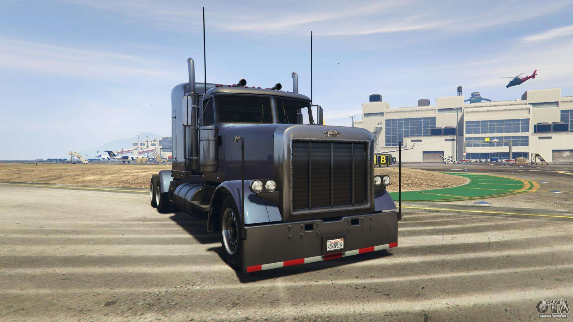 GTA 5 Jobuilt Phantom - vista frontal
