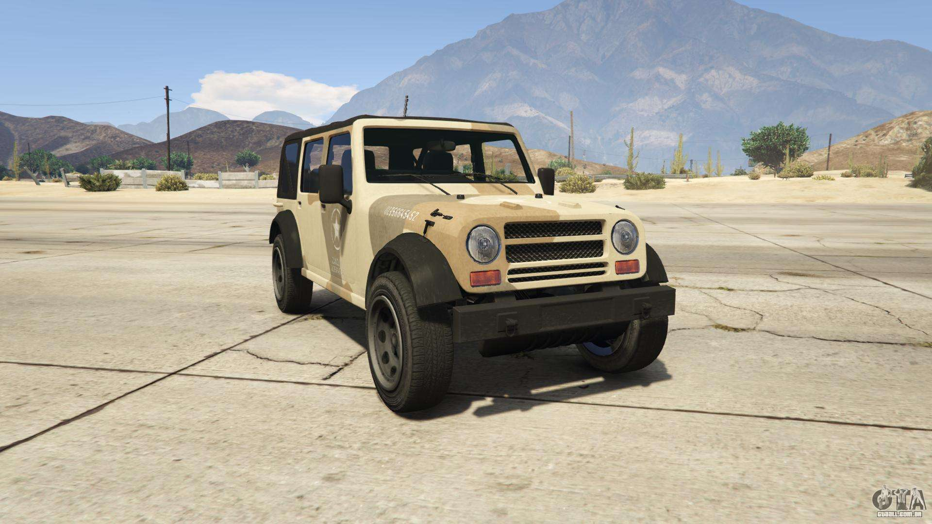 GTA 5 Canis Crusader - vista frontal
