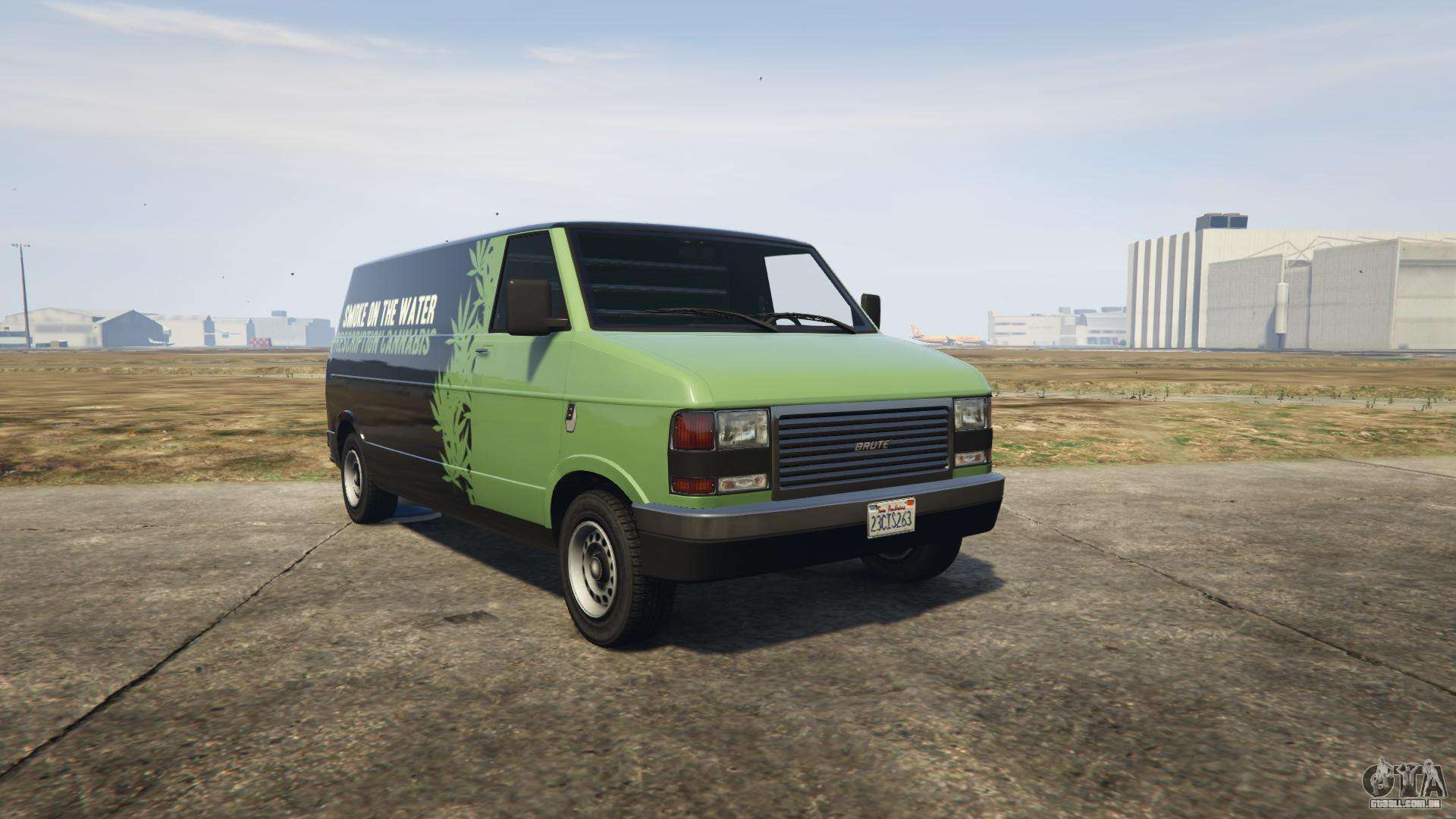 GTA 5 Brute Pony - vista frontal