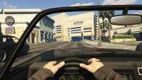 Invetero Coquette BlackFin de GTA 5: vista das cabines