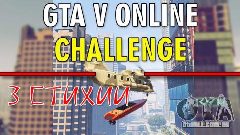GTA 5 Desafio - 3 ELEMENTOS