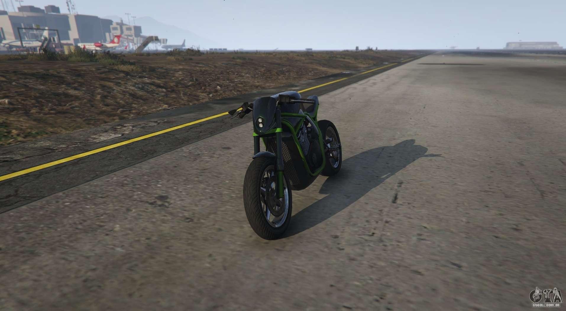 Incomum motocicleta de GTA 5 Shitzu Defiler