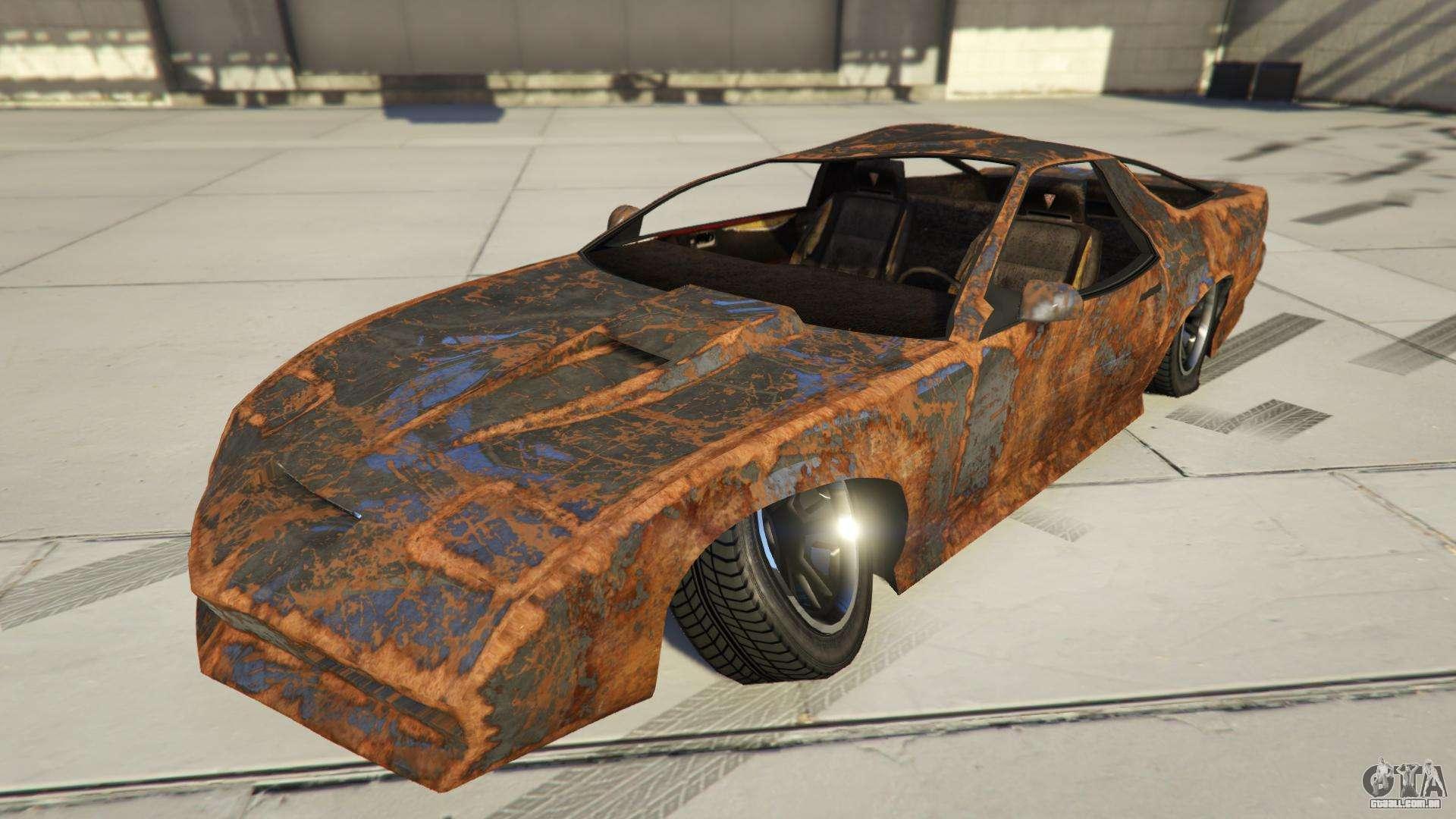 Imponte Ruiner Rusty de GTA Online