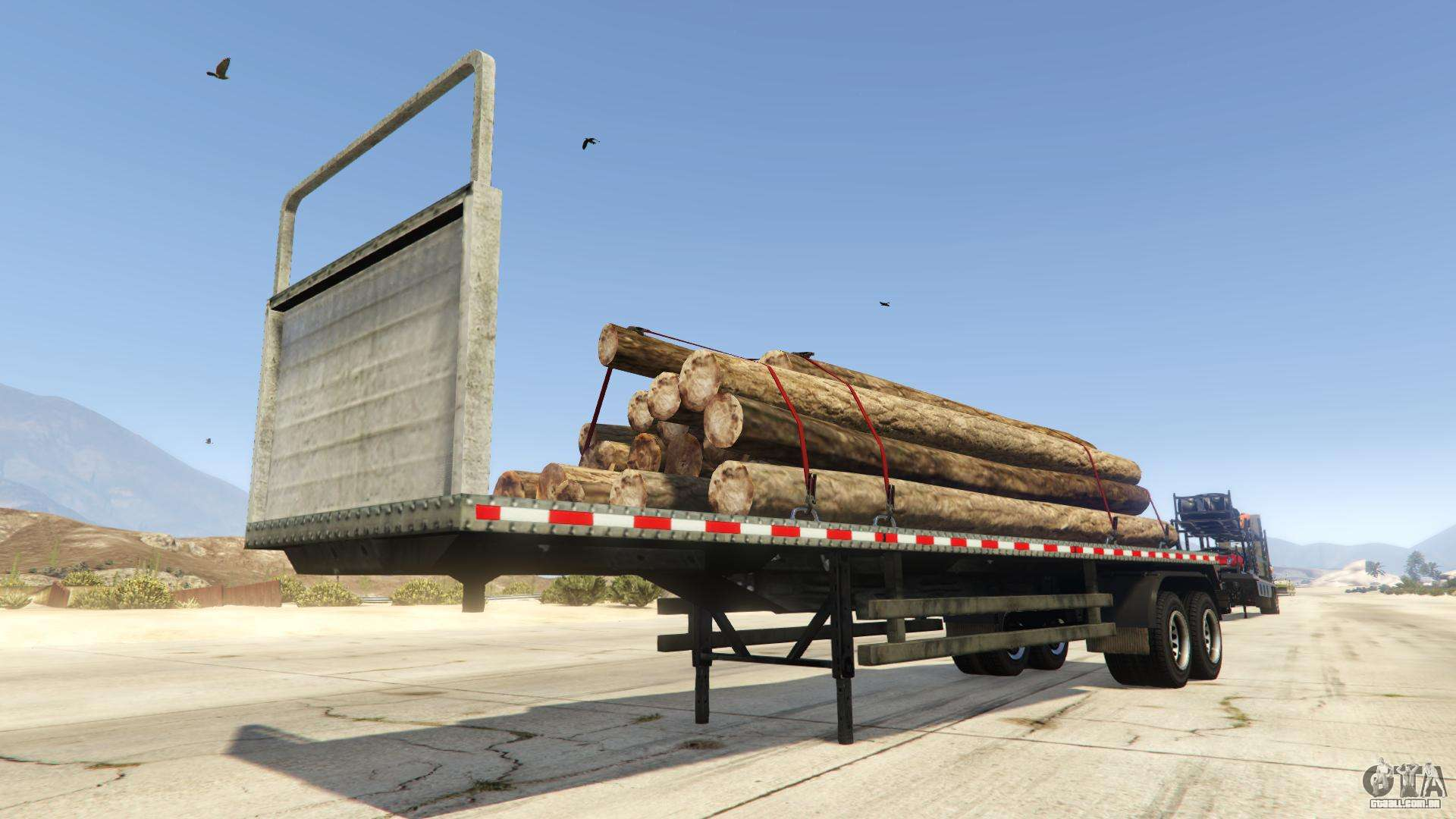 Log Trailer de GTA Online