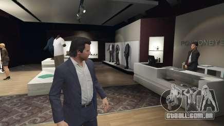 Loja de roupas GTA 5