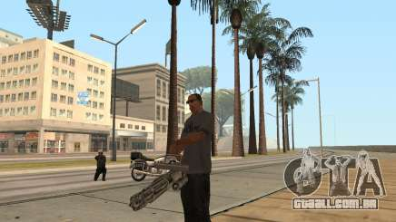 A metralhadora giratória no GTA San Andreas