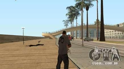 A metralhadora giratória dans GTA San Andreas