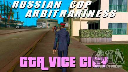 A COP-caos no GTA Vice City
