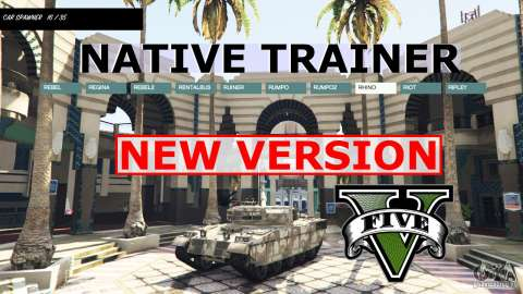 NATIVE TRAINER para GTA 5