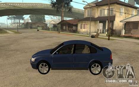 VW Passat B5 1.8T para GTA San Andreas esquerda vista