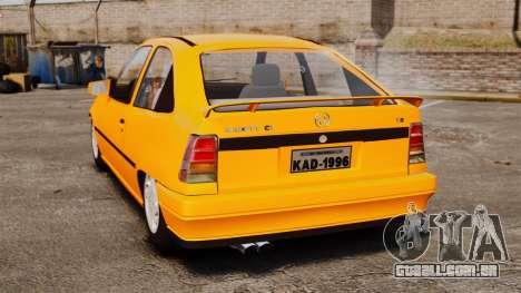 Opel Kadett GL 1.8 1996 para GTA 4 traseira esquerda vista
