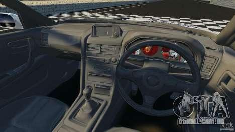 Nissan Skyline R-34 Atomic para GTA 4 vista de volta